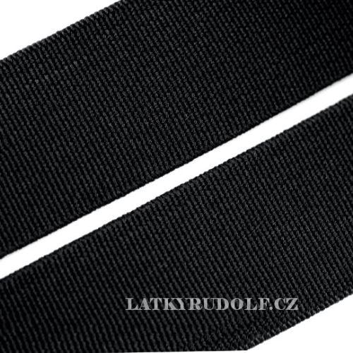 Pruženka plochá 50mm_černá