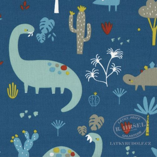 Látka Dinosauři Grrroar 1B 103553