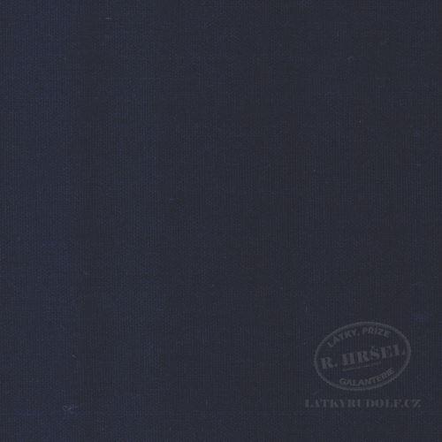 Látka Bavlněný kanvas tmavě modrý 125008