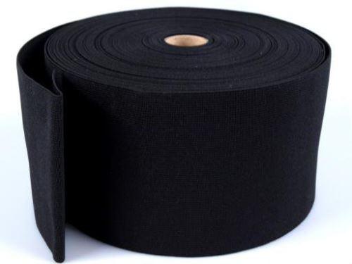 Pruženka plochá 100mm_černá