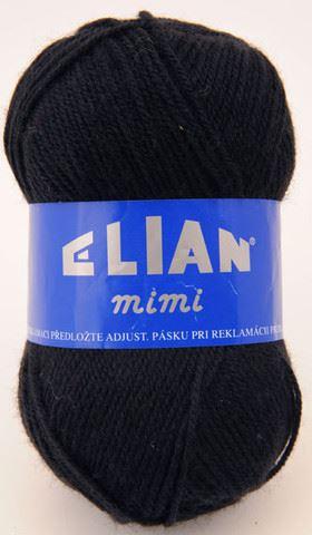 Příze Elian Mimi_217-černá