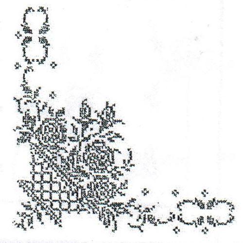 Ubrus 140x120cm Košík s růžemi-50