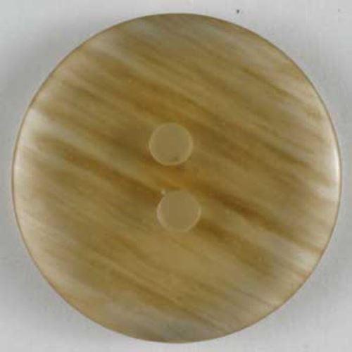 Knoflík Dill 23mm hnědý průhledný 250622