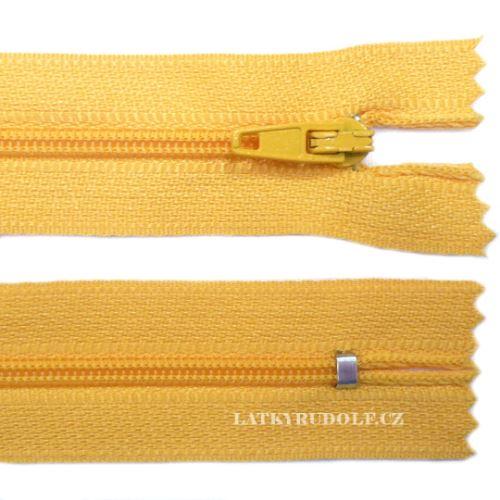 zip-spiralovy-3mm-nedelitelny-112-zlutooranzova