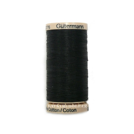 5201 Black 200m Gutermann Quilting Thread