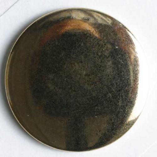 Knoflík Dill 23mm hladký zlatý 290016