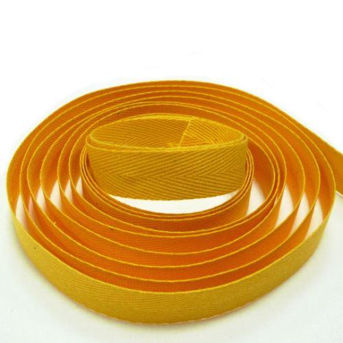 Keprovka - tkaloun šíře 14mm 4301-tmavě žlutá