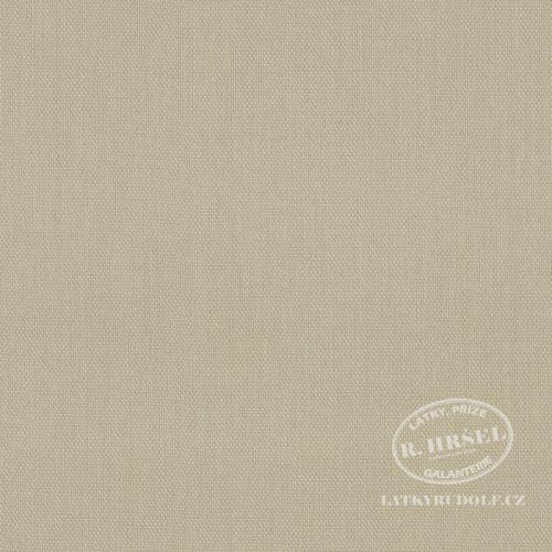 Látka Bavlněný kanvas béžový 125152