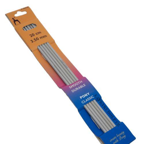 Jehlice ponožkové kovové vel.3,5, 20cm
