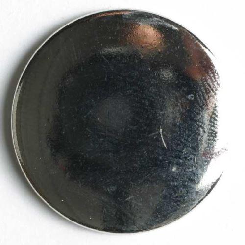 Knoflík Dill 15mm stříbrný hladký 180499