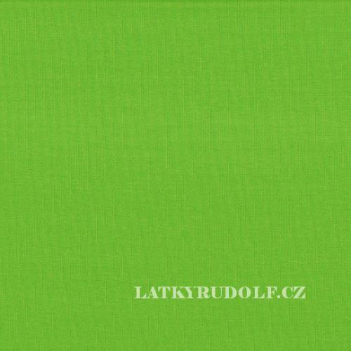 Látka Teplákovina zelená 145008