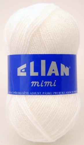 Příze Elian Mimi 208-bílá