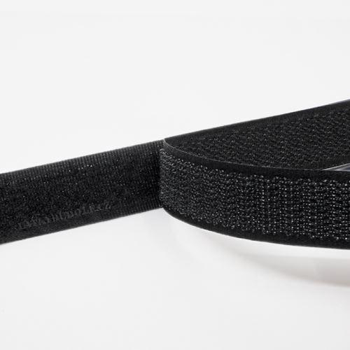 Suchý zip 30mm černý