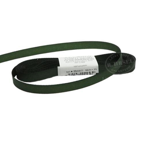 Stuha taftová š.9mm_30322-olivová zeleň