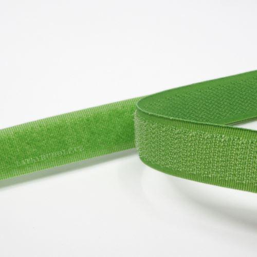 Suchý zip 20mm zelená