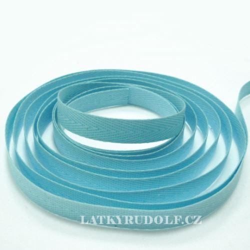 Keprovka - tkaloun šíře 10mm 1708-světle modrá