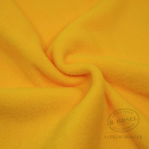 Látka Fleece antipilling uni_41-žlutý