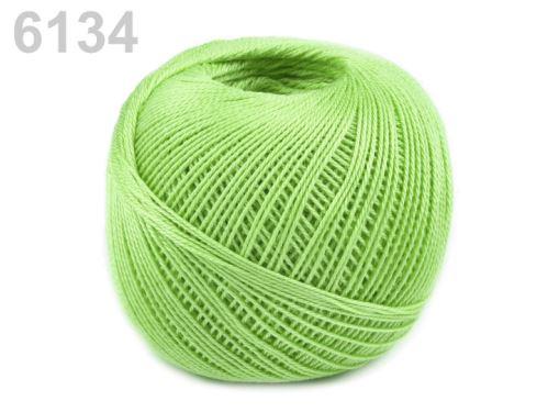 Příze Sněhurka_6134-světle zelená