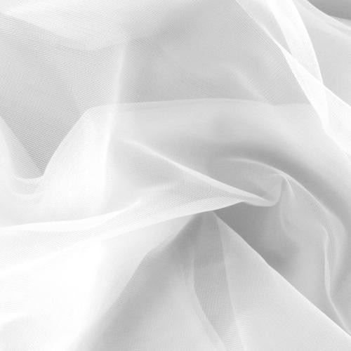 Látka Šifon polyamidový bílý 173101