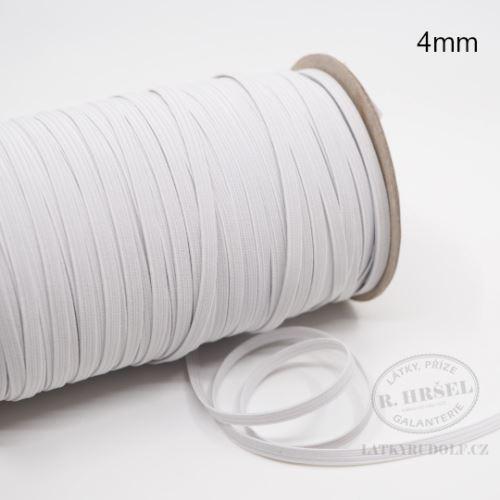 Pruženka 4mm bílá
