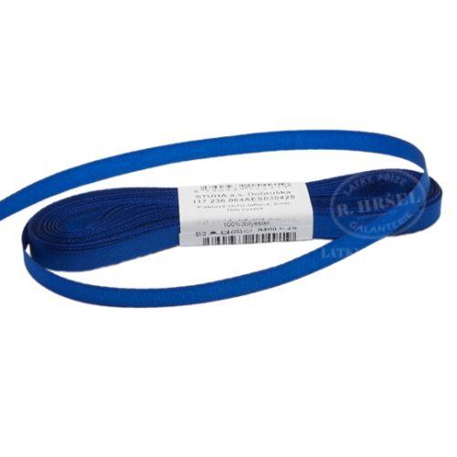 Stuha taftová šíře 6mm 30425-modrá, 10m