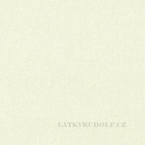 Látka Bavlněný kanvas smetanový 125025