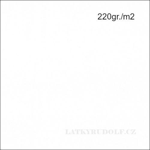 Látka Bavlněný úplet 220g bílý 142520