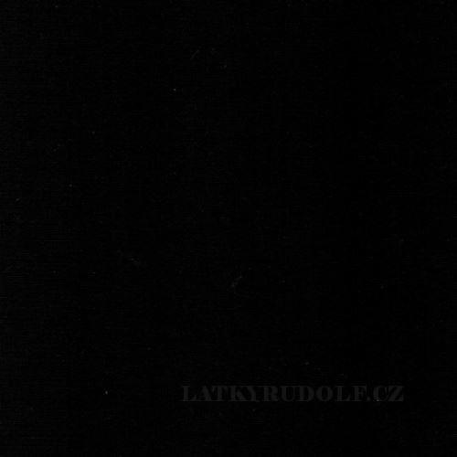 Látka Bavlněný úplet 240g černý 142069