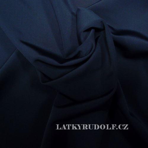 Látka Plavkovina matná černá 177990