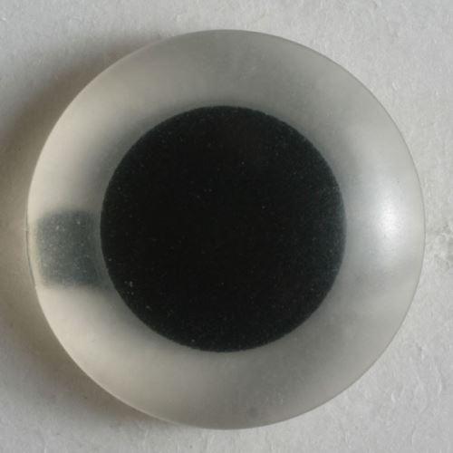Knoflík Dill oko-černý střed, vel.8mm
