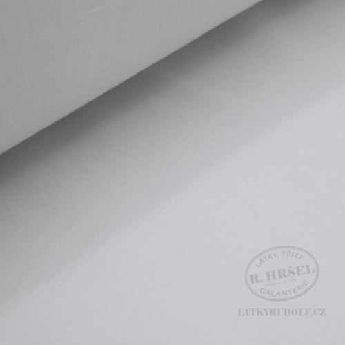 Vlizelín zažehlovací tkaný bílý 75g 181119
