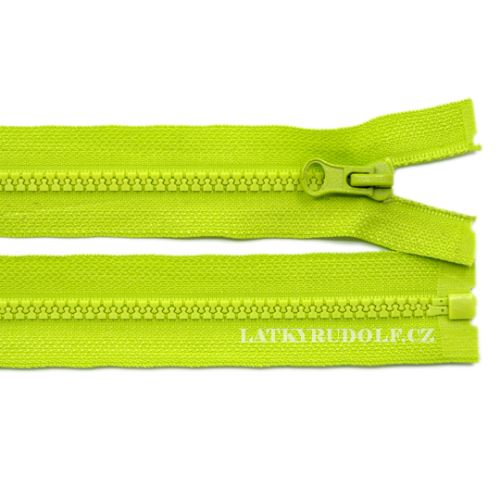 zip-kosteny-5mm delitelny- 232-svetle-zelena