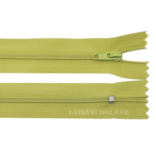 Zip spirálový 3mm nedělitelný 226K-zelená