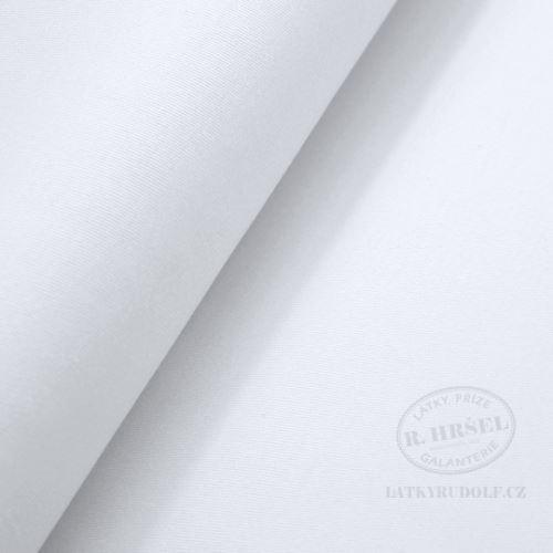 Látka Bavlna strečová kalhotová bílá 157201