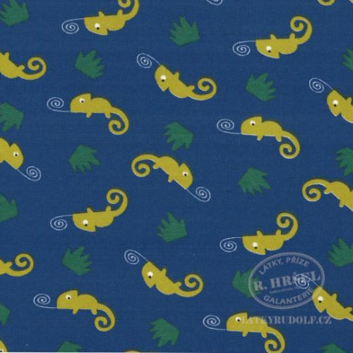 Látka Bavlněný úplet Chameleoni Camleo 149321