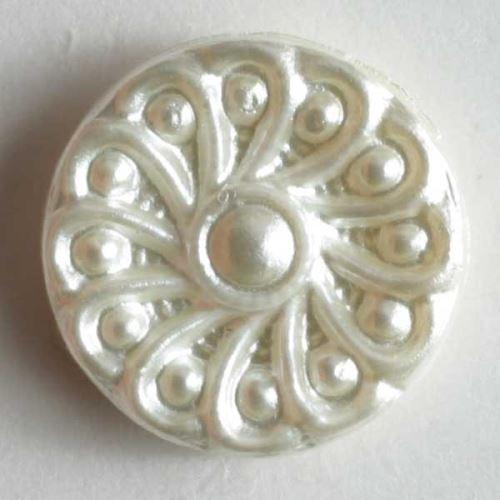Knoflík Dill 10mm ozdobný perleť 220350