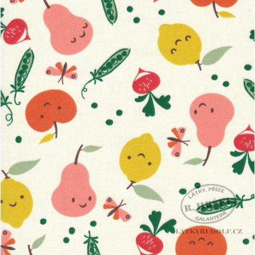 Látka Ovoce a zelenina Veggy 103501