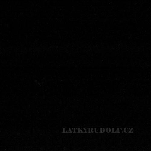 Látka Viskózový úplet 225g černý 169069
