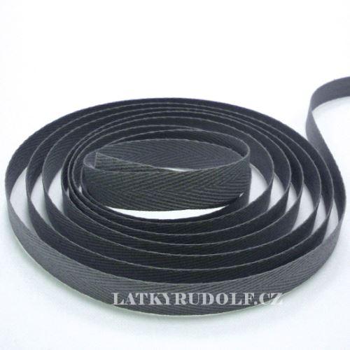 Keprovka - tkaloun šíře 10mm 4022-šedá