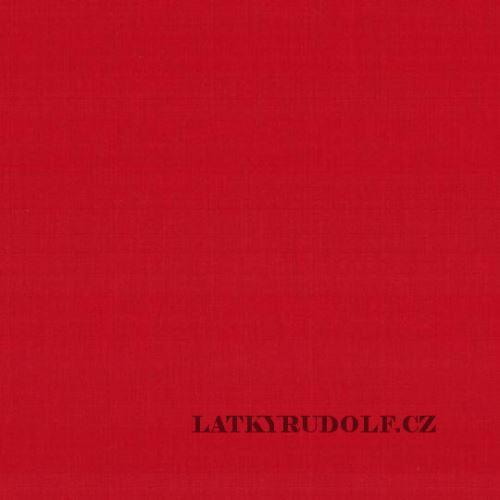 Látka Plátno červené 102032