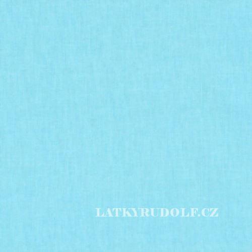 Látka Plátno světle tyrkysové 102028
