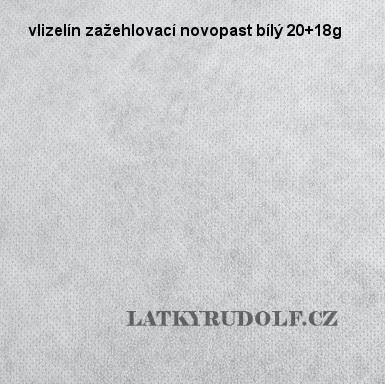 Vlizelín zažehlovací Novopast bílý 20+18g 181110