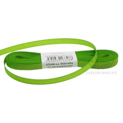 Stuha taftová š.6mm_30307-jarní zeleň
