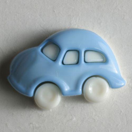 Knoflík Dill 20mm auto modré 230911
