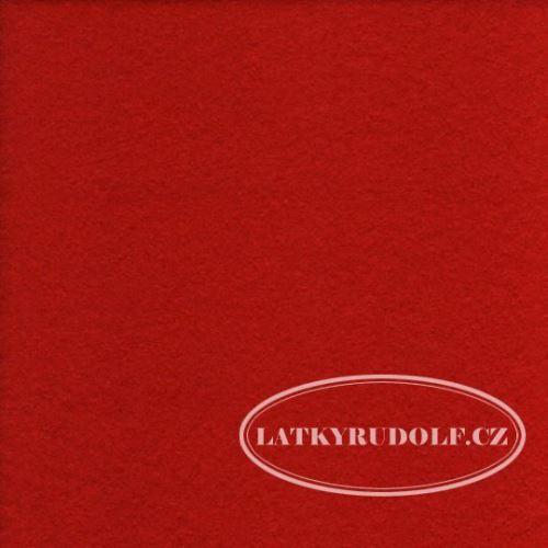 Plsť dekorační bal. 50x60cm, 125-červená